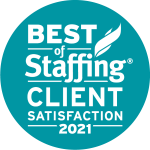 Best of Staffing Client Satisfaction 2021 - Anistar Staffing & Recruiting